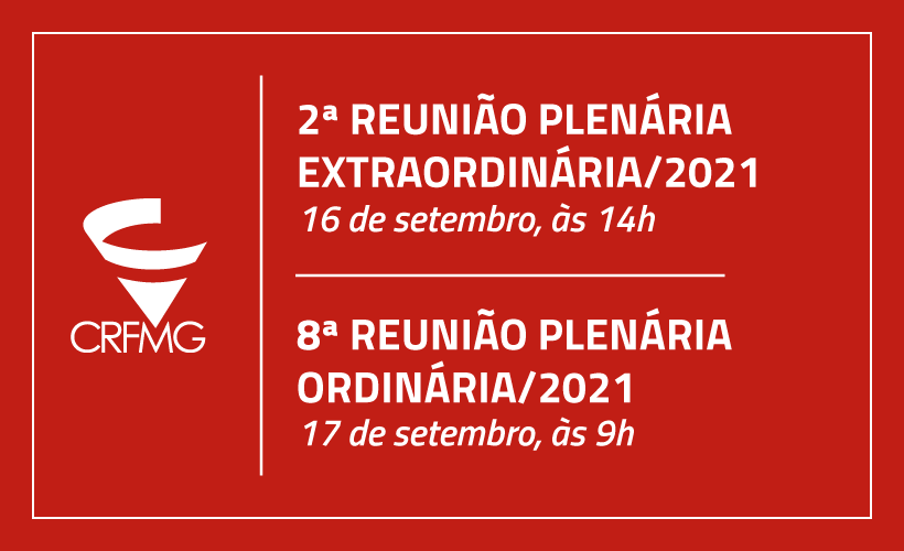 CRF/MG realiza duas reuniões plenárias essa semana para tratar de pontos diversos
